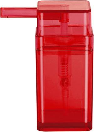 Ёмкость для жидкого мыла красная Spirella CUBO 1015293