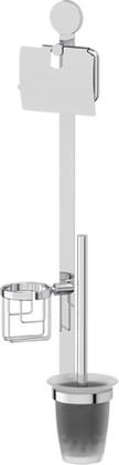Комплект для туалета со стеклянным ершом ArtWelle HAR 054