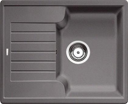 Кухонная мойка оборачиваемая с крылом, гранит, тёмная скала Blanco ZIA 40 S 518932
