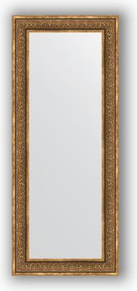 Зеркало в багетной раме 63x153см вензель бронзовый 101мм Evoform BY 3127