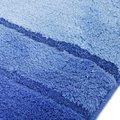 Коврик для туалета 55x55см голубой Spirella CALMA 1014481