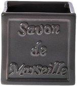 Стакан керамический серый Spirella SAVON DE MARSEILLE 4007276