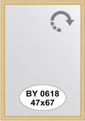 Зеркало 47x67см в багетной раме сосна Evoform BY 0618
