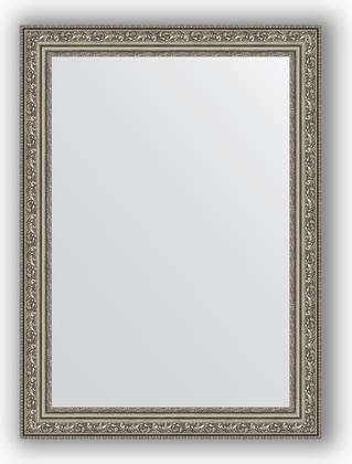 Зеркало в багетной раме 54x74см виньетка состаренное серебро 56мм Evoform BY 3040