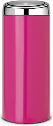 Ведро для мусора 30л розовое Brabantia TOUCH BIN 481987