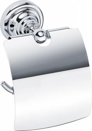 Держатель туалетной бумаги с крышкой, хром, Bemeta 144312012