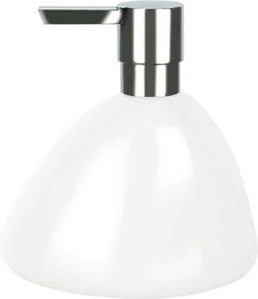Ёмкость для жидкого мыла белая Spirella ETNA SHINY 1016109