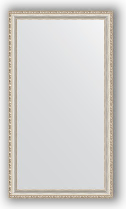 Зеркало в багетной раме 75x135см версаль серебро 64мм Evoform BY 3302