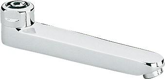 Излив литой для смесителя 175мм, хром Grohe 13462000
