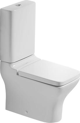 Чаша напольного унитаза с полным примыканием к стене, выпуск Vario Duravit PuraVida 2119090001