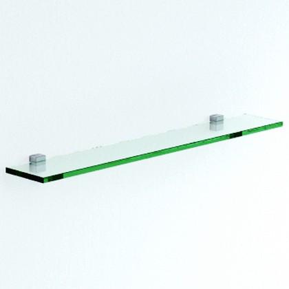 Мебель для ванной Verona, коллекция VERONA, Полка стеклянная с полкодержателями, ширина 100см, артикул VN812