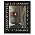 Зеркало 45x55см с фацетом 30мм в багетной раме чёрный ардеко Evoform BY 1357