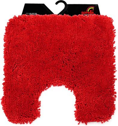 Коврик для туалета 55x55см красный Spirella HIGHLAND 1013071