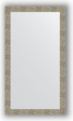 Зеркало в багетной раме 76x136см соты титан 70мм Evoform BY 3308