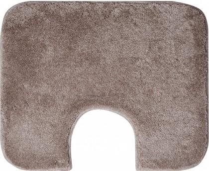 Коврик с вырезом под туалет 60x50см серо-коричневый Grund COMFORT WC 2399.06.4298