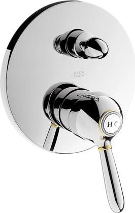 Смеситель для ванны однорычажный встраиваемый без встраиваемого механизма и без излива, хром Hansgrohe Axor Carlton 17415000