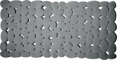 Коврик в ванну 75x36см, серый Spirella MARATHON 1012560