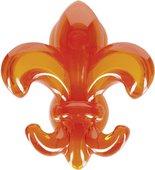 Крючок самоклеящийся, оранжевый Spirella LILY 1017998