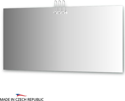 Зеркало 150х75см со светильниками Ellux CRY-C3 0218