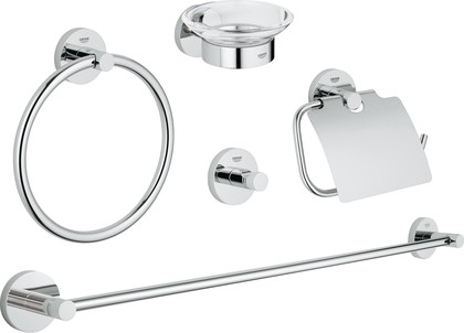 Комплект аксессуаров, хром Grohe Essentials 40344001