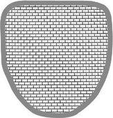 Сетка из нержавеющей стали для писсуара Duravit STARCK 3 50421000
