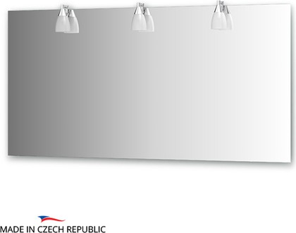 Зеркало со светильниками 150х75см Ellux ROM-A3 0218