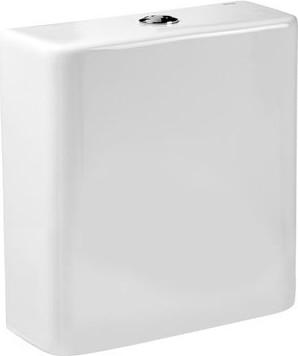 Бачок без крышки (моноблок) с двойным сливом 4,5/3л с нижним подводом, белый Roca DAMA 341784000