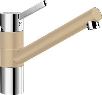 Смеситель однорычажный с высоким изливом для кухонной мойки, хром / шампань Blanco TIVO 517605