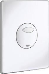 Кнопка смыва для инсталляции для унитаза, альпин белый Grohe SKATE 38862SH0