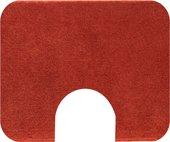 Коврик с вырезом под туалет 50x60см оранжевый Grund COMFORT WC 2399.06.4141