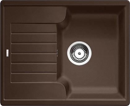 Кухонная мойка оборачиваемая с крылом, гранит, кофе Blanco ZIA 40 S 516927