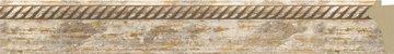 Зеркало с фацетом в багетной раме 53x83см прованс с плетением 70мм Evoform BY 3407