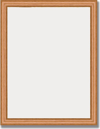 Зеркало 35x45см в багетной раме вишня Evoform BY 1323