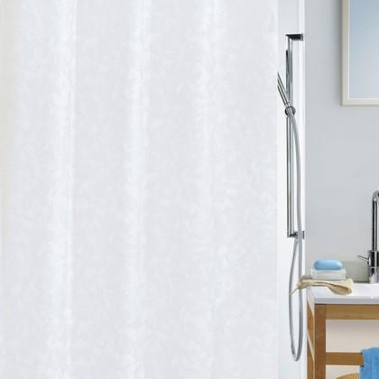 Штора для ванны 180x200см текстильная белая Spirella PORTO 1033938