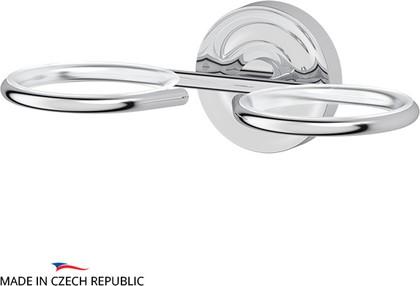 Держатель 2-х стаканов/ёмкостей для жидкого мыла, хром Ellux ELE 007