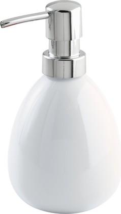 Ёмкость для жидкого мыла белая Wenko POLARIS 17842100