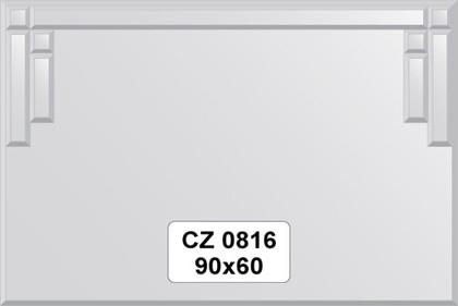Зеркало для ванной 90x60см с декоративными элементами FBS CZ 0816