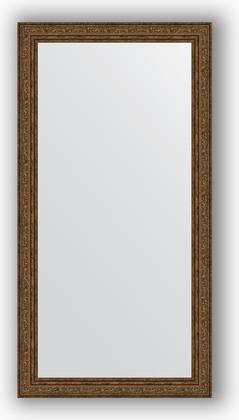 Зеркало в багетной раме 54x104см виньетка состаренная бронза 56мм Evoform BY 3073