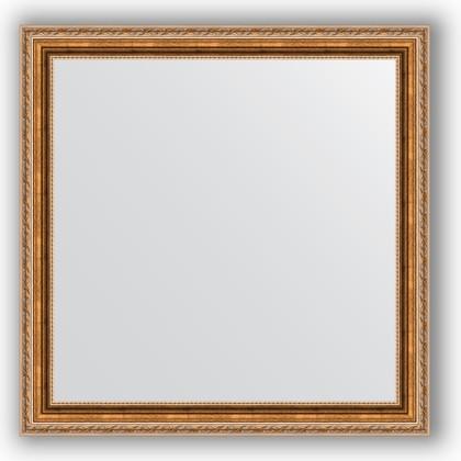 Зеркало в багетной раме 75x75см версаль бронза 64мм Evoform BY 3239