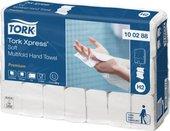 Листовые бумажные полотенца для рук сложения Multifold Tork Premium 100288