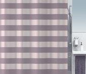 Штора для ванны 180x200см текстильная лиловая Spirella SCALA 1016313