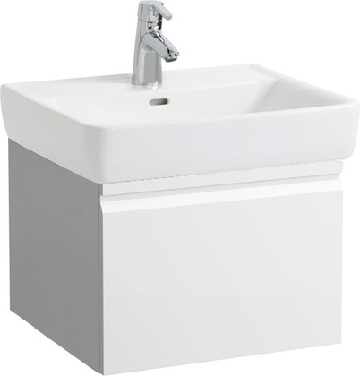 Шкафчик под раковину 52см, белый глянцевый Laufen PRO 4.8303.4.095.485.R