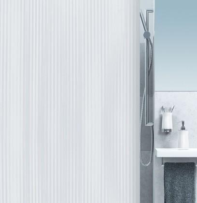 Штора для ванной 180x200см белая Spirella TWILL 1005845
