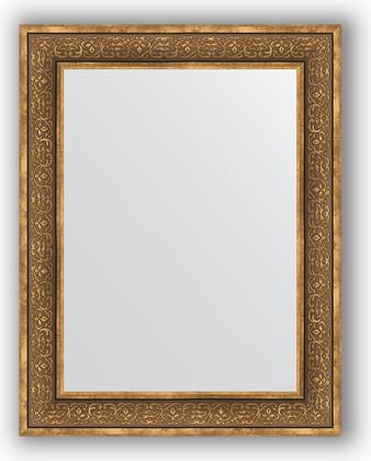 Зеркало в багетной раме 73x93см вензель бронзовый 101мм Evoform BY 3191