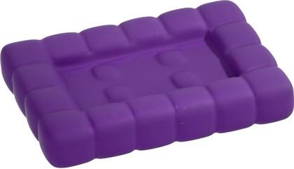 Мыльница пурпурная Wenko CUBE 20449100
