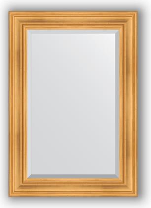 Зеркало с фацетом в багетной раме 69x99см травленое золото 99мм Evoform BY 3444