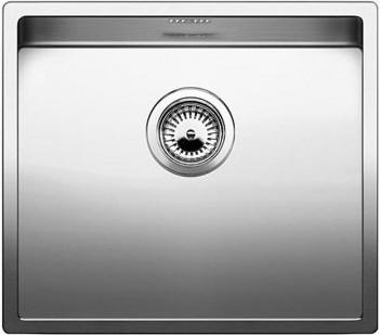 Кухонная мойка без крыла, нержавеющая сталь зеркальной полировки Blanco CLARON 500-IF 517216