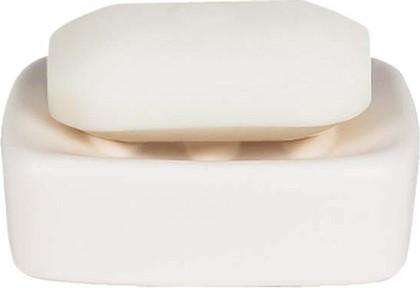 Мыльница керамическая белая Spirella RETRO 1008073