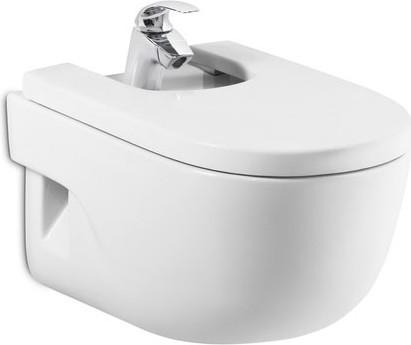 Керамическое подвесное белое биде Roca MERIDIAN 357245000
