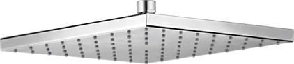 Верхний квадратный душ без держателя, хром Keuco EDITION 11 53086010100